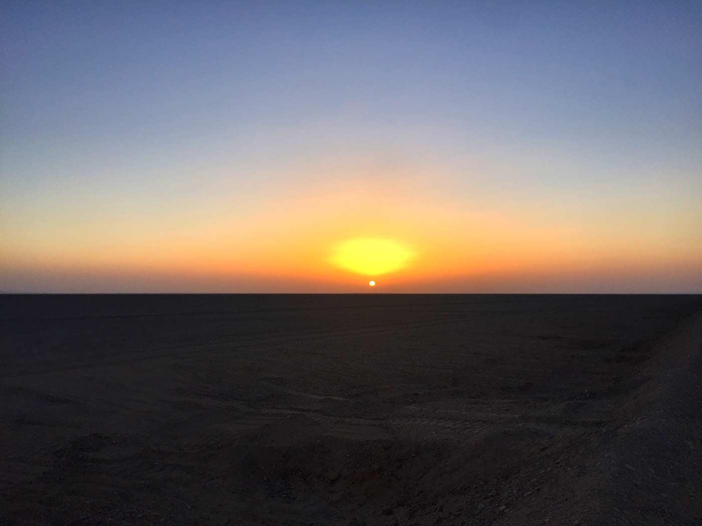大漠落日圆